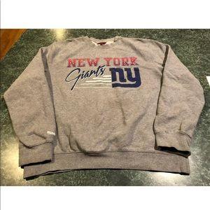 New York Giants Mitchell & Ness Gray Sweatshirt XL